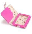 hot-pink-with-floral-interior-leather-folio-case