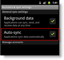 android-auto-sync